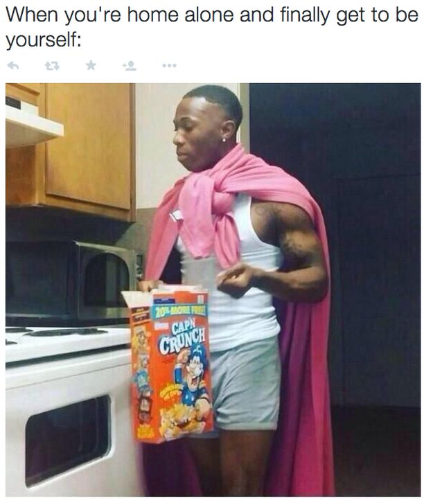 """And the """"BE YOURSELF"""" Pose: 