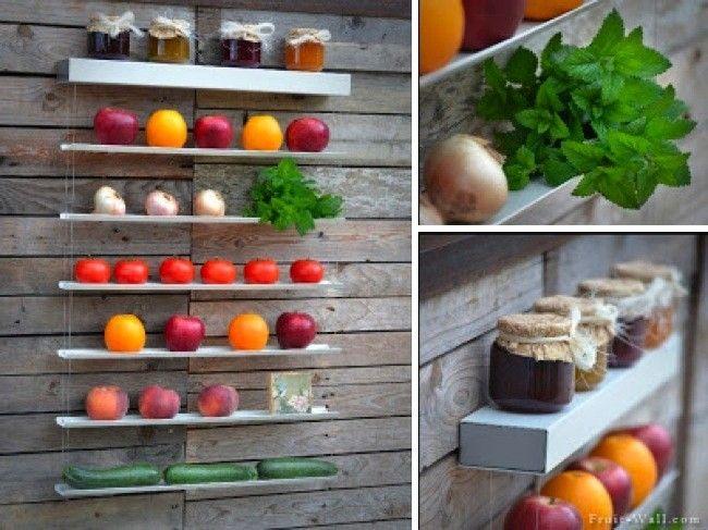 frutas organizador