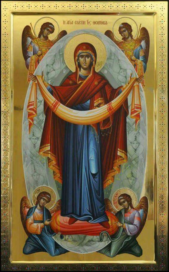 Miraculous icon of the Athos Holy Virgin