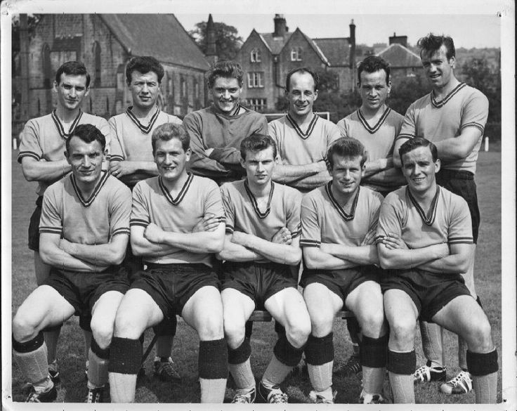 Belper Town in the 1950/60's. My husband Albert played for them during this period. He is front row second from left.