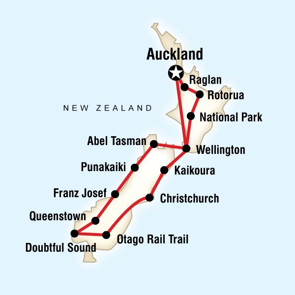 Best of New Zealand… MY DREAM TRIP