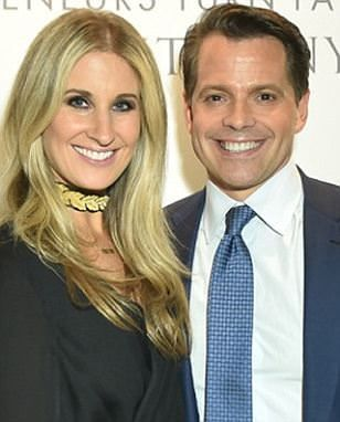 you go, girl:  Anthony Scaramucci's wife, Deidre, files for divorce