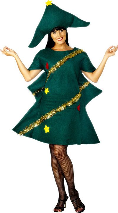 Home made Christmas Tree Costume Ideas For Women 2013 2014 6 Home Made Christmas Tree Costume Ideas For Women 2013/ 2014