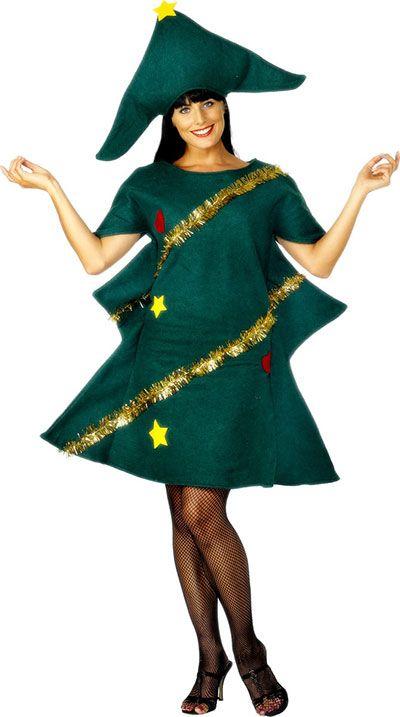 Home made Christmas Tree Costume Ideas For Women 2013 2014 6 Home Made Christmas Tree Costume Ideas For Women 2013/ 2014