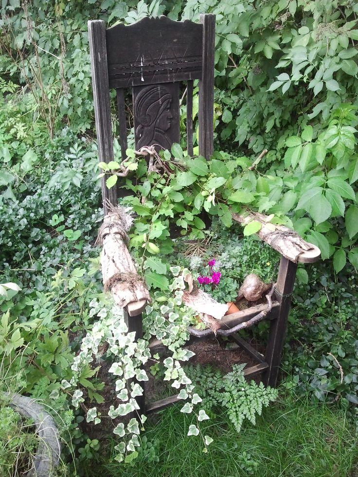50 besten stuhl bepflanzen bilder auf pinterest - Bepflanzter stuhl ...