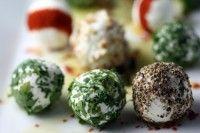 Красочные и аппетитные сырные шарики из брынзы / Вегетарианские рецепты