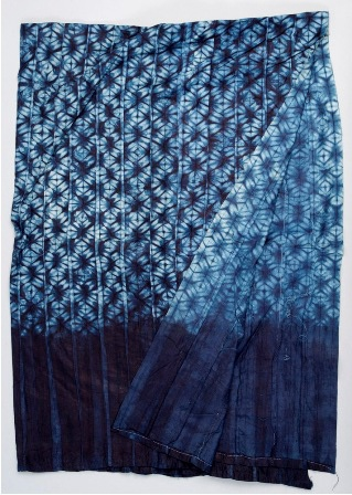 Africa   Garra cloth from Sierra Leone   Made using the tie and dye method. Cotton and indigo