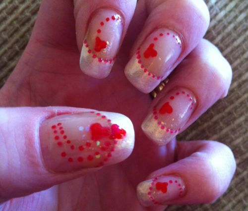 Valentine Nail Ideas Pinterest The Best Inspiration For Design And