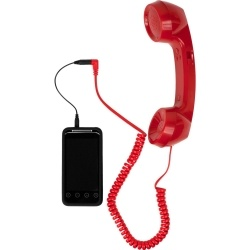 This is the best present I have seen!  turns my cell phone into a real phone!  I want one!