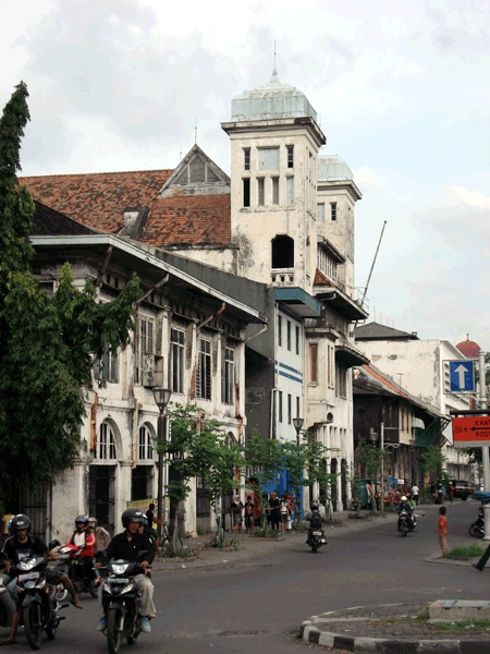 Dutch Architecture along The Great Canal in Jakarta, once known as Batavia