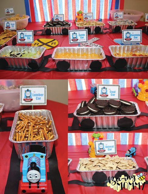 Thomas the Train Birthday Party Food Ideas