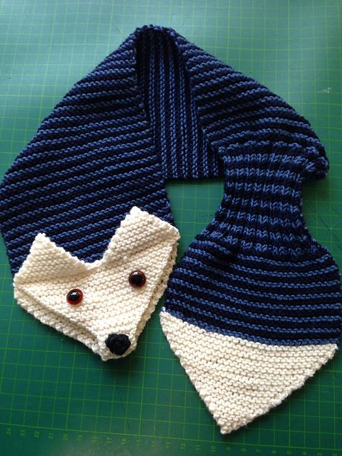 Ravelry: Fox Scarf pattern by Satu Dolk and Ossi Laine