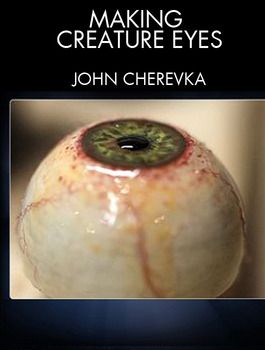 Learn how to make a monster eye for puppet & animatronic characters with FX master John Cherevka (Iron Man, Avatar, Robocop).