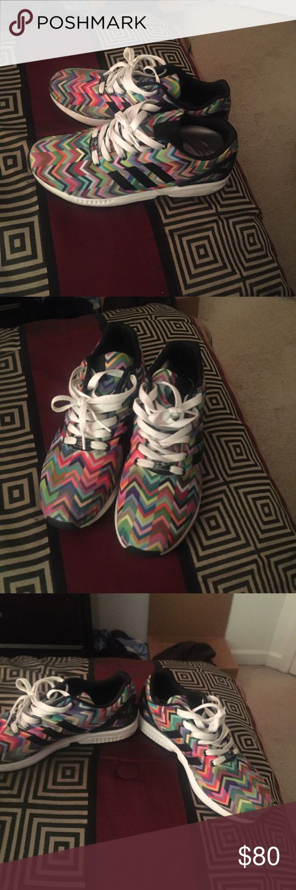 Zx Flux Adidas. Just looking to get rid of a lot my shoes. Comes with foam cushion soles. Adidas Shoes Athletic Shoes