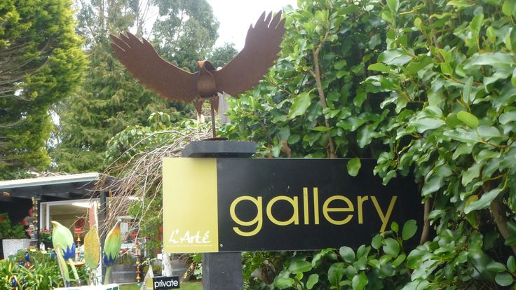A must visit Taupo, New Zealand.  Fab art and great cafe