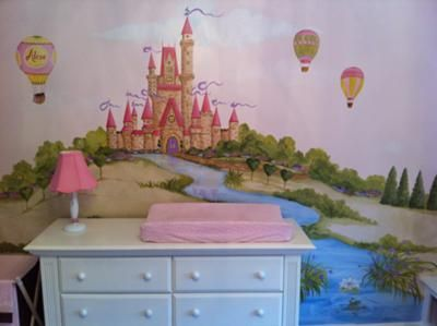 Picture Perfect Princess Nursery: We created a picture perfect princess nursery for our little princess.  The daddy-to-be created beautiful built-in bookshelves and a cozy window seat.