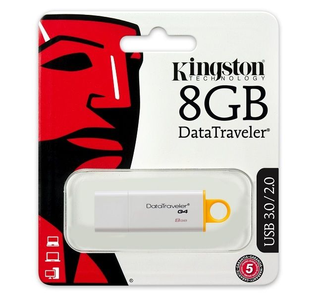 PEN DRIVE KINGSTON USB 3.0 8GB #usb #informatica #mazzarella