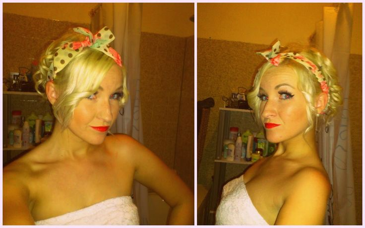 Hairstyle of the day - Pin Up Girl