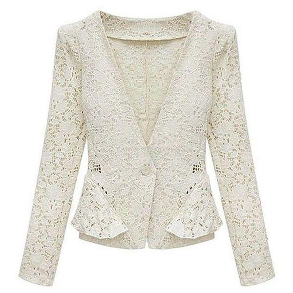 Best 25  Lace blazer ideas only on Pinterest | Lace jacket, Womens ...