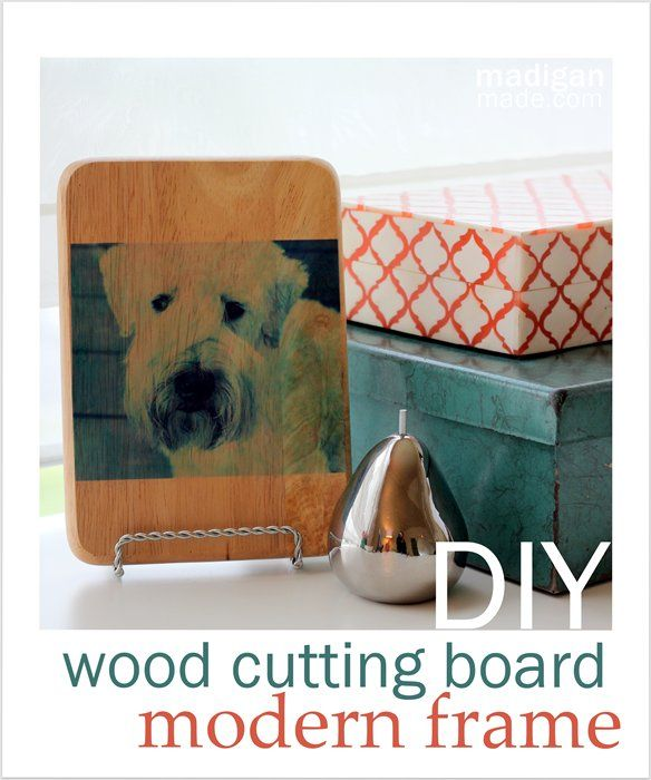 Make a Modern, Wood Mounted Photo Using Scrapbooking Attitude - madiganmade.com