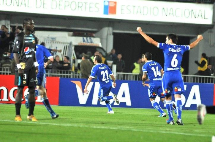 Universidad de Chile 6-0 Deportivo Quito. De nuevo haciendo hazañas