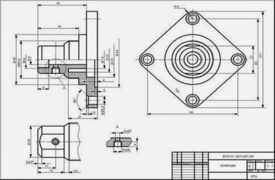 Mechanical drawings are critical aspect for all mechanics for Engineering blueprints