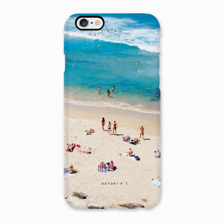 Splash at Bondi Beach. Limited edition luxury iPhone 5 and iPhone 6 Phone Cases featuring a Daydrift photograph of Bondi Beach Sydney Australia
