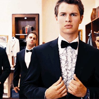 Enough said. | 19 Reasons Ansel Elgort Would Make The Perfect Boyfriend