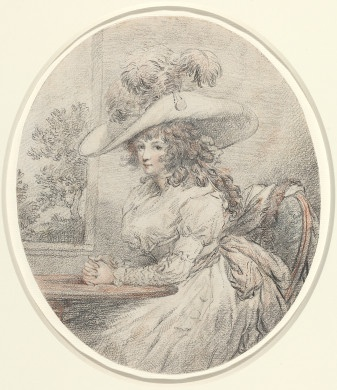 George Morland  Anne Ward Morland, c. 1786  Gift of the Monica and Hermen Greenberg Foundation in honor of Monica Lind Greenberg  2008.47.2