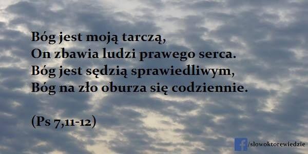 Słowo, które wiedzie: Ps 7,11-12