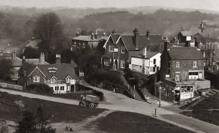 Denny Bottom, Rusthall in the 1920s.
