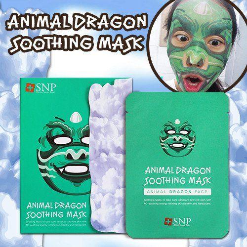 [SNP] ANIMAL DRAGON SOOTHING MASK (1 BOX)