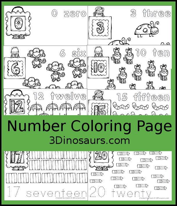 Easy To Use Number Coloring Pages Free Printable Numbers Printable Numbers Abc Coloring Pages