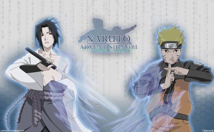 Sasuke Vs Naruto HD Wallpaper