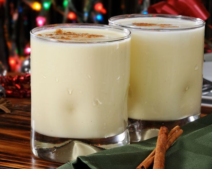 Dairy Free Eggnog Coconut milk is such a great substitute for milk.