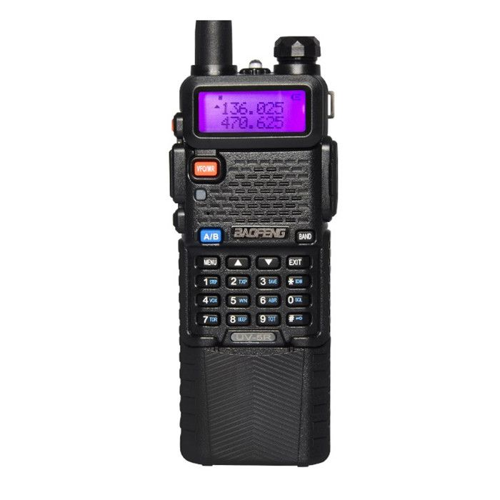 5x BAOFENG UV-5R Two Way Radio Dual Band Portable 5W Walkie Talkie Transceiver