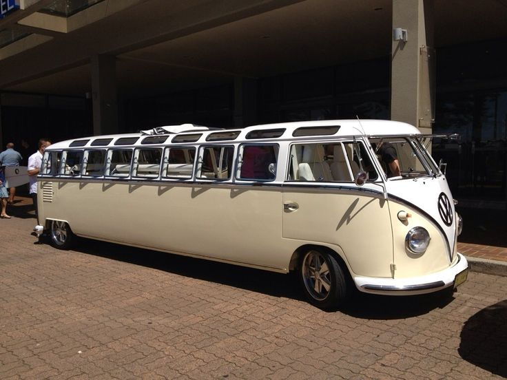Stretched VW Camper (limousine / bus / campervan / van / Volkswagen)