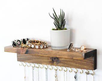 Necklace Holder, Holds 16 or Bracelets