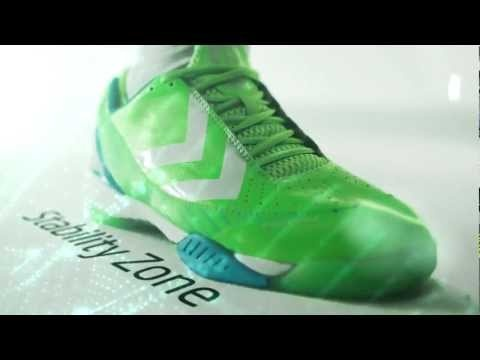 Here it is, the hummel Rebel shoe, part of this year's World Cup Trophy Collection, in a design that will light up the court!    Great commercial starring Mikkel Hansen.