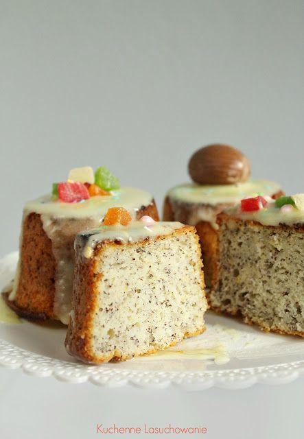 Kuchenne Łasuchowanie: Jogurtowe babeczki cytrynowe z makiem