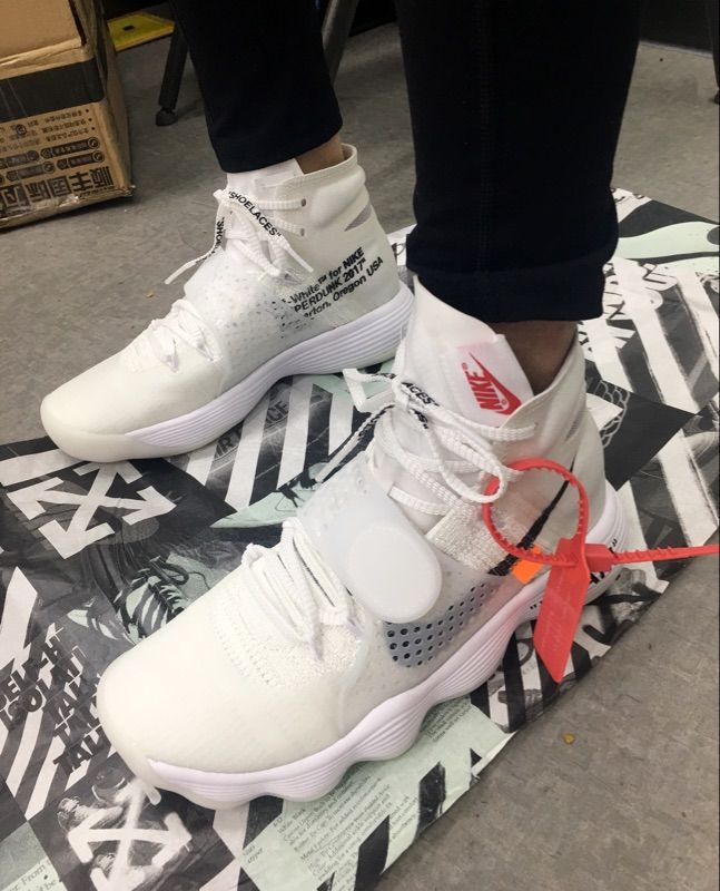448837ea9723b THE 10 NIKE X HYPERDUNK 2017 FK OFF WHITE VIRGIL ABLOH AJ4578 100 #clothes #