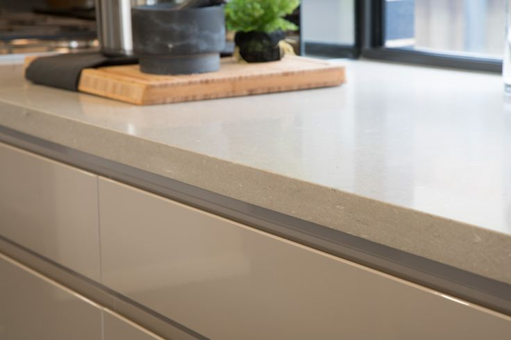 20mm Caesarstone benchtops in selected colours. Included as a standard option in our Better Inclusions package. #caesarstone #BetterBuilt