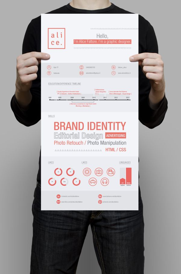 Personal Brand by italian graphic designer alice