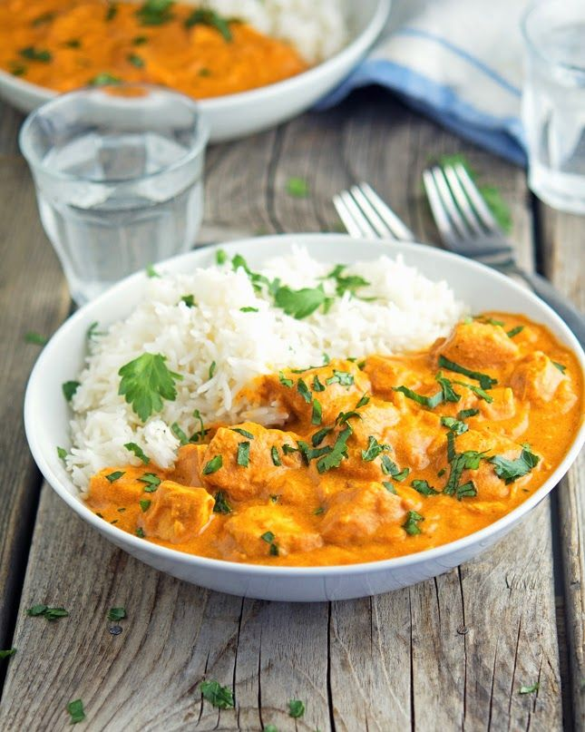 Crockpot Chicken Tikka Masala - have most of these ingredients in the pantry at all times!