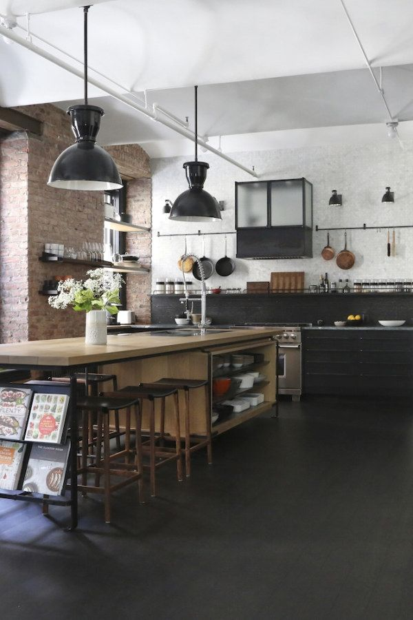 Awesome Industrial Kitchen Decor Ideas That You Can Create For Your Urban Getaway Industrial Kitchen Design No 10101 Ho Cuisine Industrielle Maison Cuisine