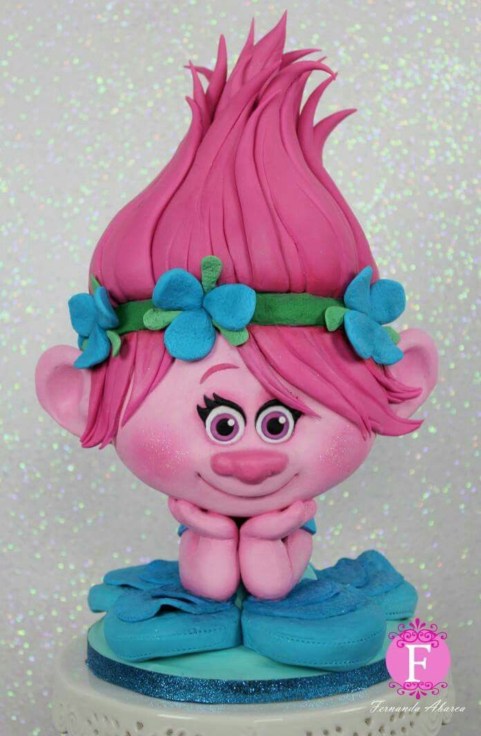 Southern Blue Celebrations: TROLLS CAKE & COOKIE IDEAS