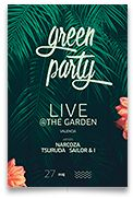 Summer Party – This summer flyer poster template can be used for a summer party, outdoor nature party, fashion event, email template, summer sale flyer,flower workshop, garden party, bar and dj eve...