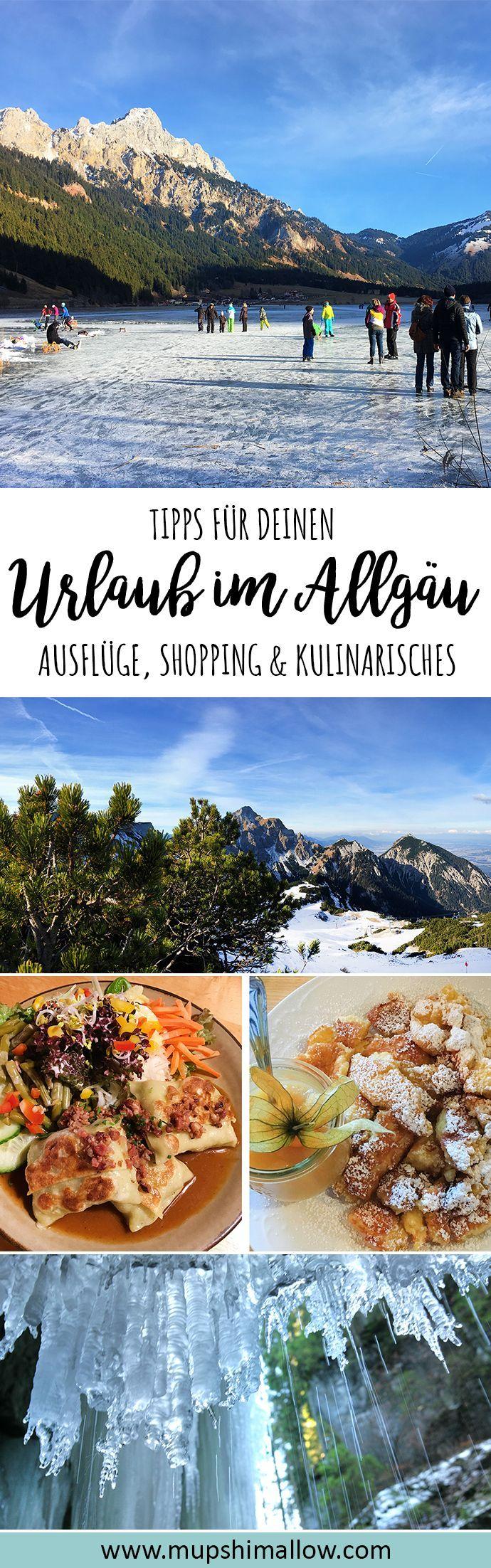 Du brauchst Tipps für deinen Urlaub im Allgäu (Bayern)? Klick hier für tolle Empfehlungen im Allgäu für Tages Ausflüge, Sehenswürdigkeiten Shopping Tipps und Restaurants. Erkunde die schöne Region des Allgäus im Urlaub!