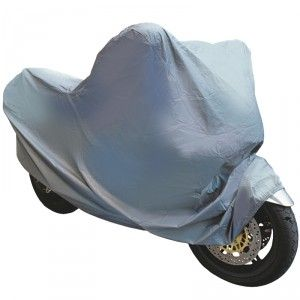 Indispensable pour protéger votre moto ou votre scooter : la housse anti poussière et imperméable.