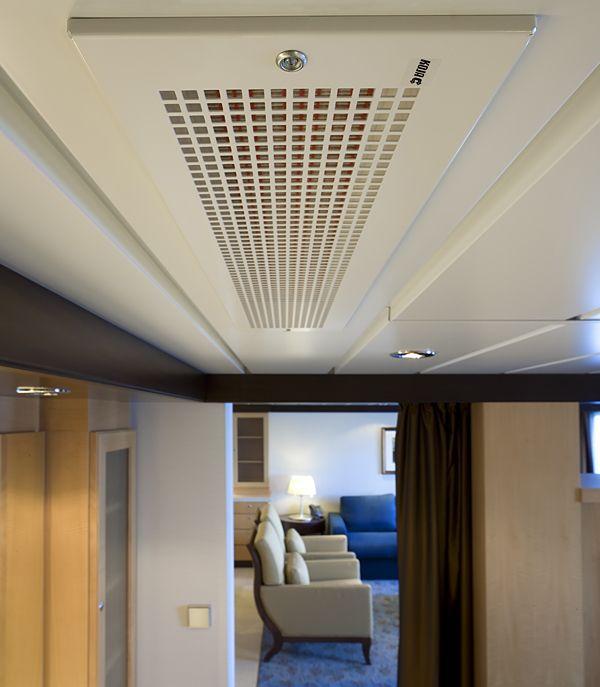 Toimiva ilmastointi ei näy eikä kuulu, vaikka se vaikuttaakin merkittävästi sekä matkustajien että miehistön hyvinvointiin ja viihtyvyyteen.
